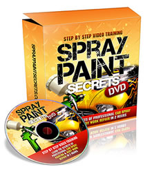 car spraying paint auto gun