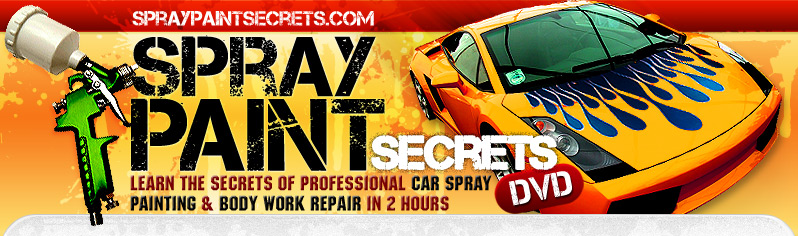 Car Spray Paint | Auto Spray Painting SprayPaintSecrets