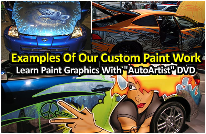 custom spray paint designs car
