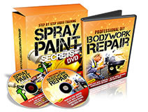 spray paint secrets video training car