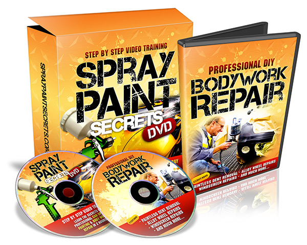 car bodywork paint repair spray painting