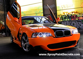 how to spraypaint car | automotive spray painting