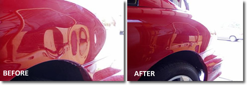 paintless dent removal | car bodywork repair