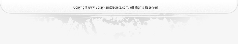 Spray Paint Secrets Footer