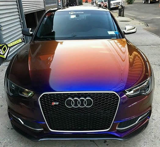 audi cool spray painting design
