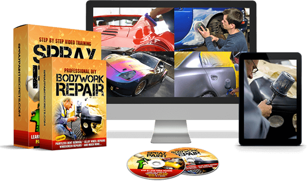automotive spray paint repair