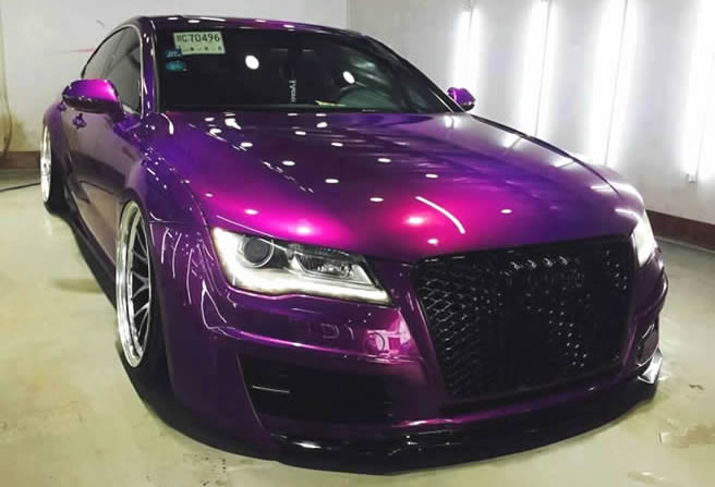 audi cool paint custom work