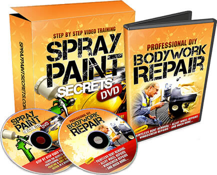 learn to spray paint your car - Spray Paint Secrets Course